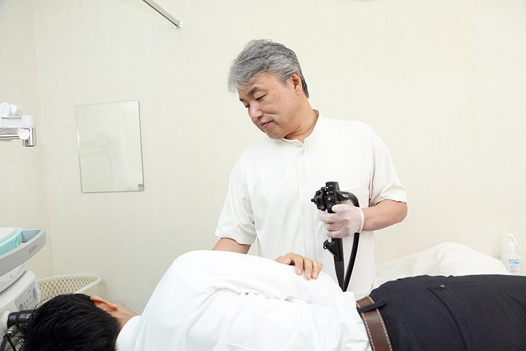 当院の苦しくない内視鏡検査